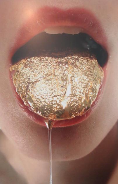 tongue-gilding
